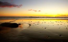 california zmierzch Fotografia Stock