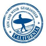 california znaczek ilustracji