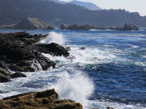 Californian ocean shore Stock Photos