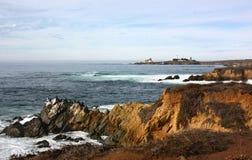 Californian seascape Royalty Free Stock Image