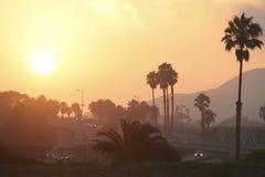 Californian sunset Royalty Free Stock Photography