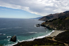 Californias Rugged Big Sur Area. California's Rugged Big Sur Area Royalty Free Stock Images