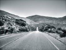 Californische Weg Stock Foto's