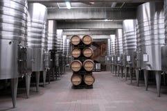 Californische wijnkelder royalty-vrije stock foto's