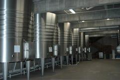 Californische wijnkelder royalty-vrije stock afbeeldingen