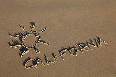 Califórnia Foto de Stock Royalty Free