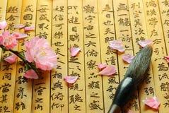 Caligrafia chinesa Imagens de Stock