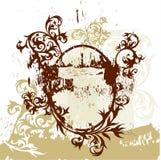 A caligrafia floresce a vinheta ilustração do vetor