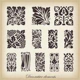 Caligraphic design elements Stock Image