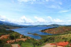 Calima sjö Royaltyfri Fotografi
