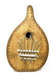 Calimba music instrument with clipping path Royalty Free Stock Images