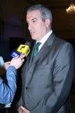 Calin Popescu Tariceanu Fotografie Stock
