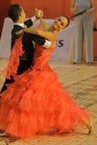 Calin Rusnac/ Andreea Maria Hogea Dancers. Calin Rusnac/ Andreea Maria Hogea, ballroom dancers, 3rd place at the National Dance Contest, Cupa Romaniei, 25 Stock Images