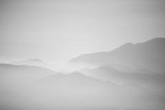 Calina de la montaña fotografía de archivo libre de regalías