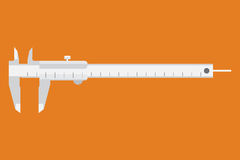 Caliper icon. Measuring instrument Stock Images