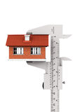 Caliper Measures House Building Stock Photos