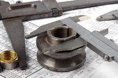 Calipers Royalty Free Stock Photography