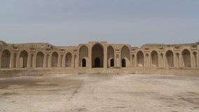 Caliphal slott i Samarra, Irak arkivfoto