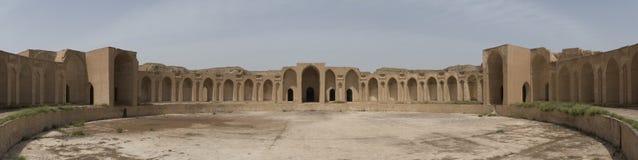 Caliphal slott i Samarra, Irak arkivbilder