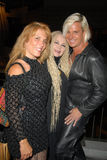 Calista Carradine, Fawn and Daniel DiCriscio  Royalty Free Stock Image