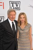 Calista Flockhart,Harrison Ford Royalty Free Stock Photos