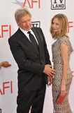 Calista Flockhart,Harrison Ford Stock Photos