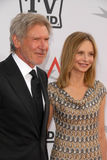 Calista Flockhart,Harrison Ford,Mike Nichols Royalty Free Stock Images