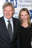Calista Flockhart,Harrison Ford Stock Photography