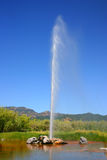 Calistoga's Old Faithful Geyser, California Stock Photo