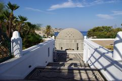 Calitea Rhodes Greece Kallithea Therme royalty-vrije stock afbeeldingen