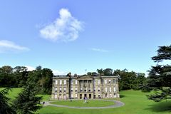 Calke Abbey. The Calke Abbey mansion in Ticknall, Derbyshire, England Stock Photo