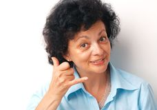 Call. Royalty Free Stock Photo