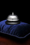 Call Bell on Pillow Royalty Free Stock Images