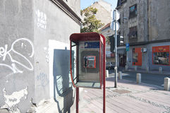Call-box in Belgrade Stock Photography