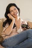 call cappuccino phone στοκ φωτογραφίες