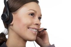 Call center Stock Image