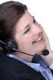 Call center fotografia stock