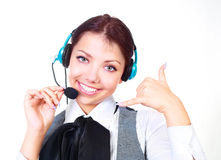 Call-center Stock Image