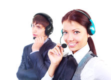 Call-center Royalty Free Stock Image
