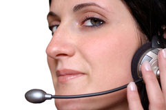 Call center Immagini Stock