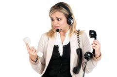 Call center Royalty Free Stock Photo
