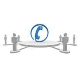 Call-Center Lizenzfreies Stockbild