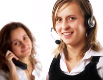 Call center Immagine Stock