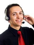 Call center Fotografia Stock