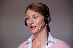 Call-center  Royalty Free Stock Photo