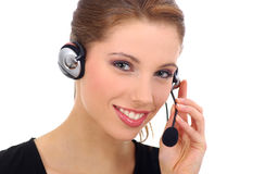 Call center agent Royalty Free Stock Photos