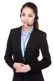 Call center agent Stock Photos
