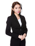 Call center agent Stock Photo