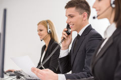 Call center Stock Images