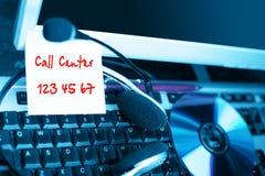 Call center background Stock Photos